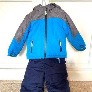 Carter's Snowsuit--Snow Jacket & Ski Bibs 4T